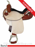 "15"" Dakota Barrel Racing Saddle dk300"