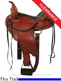 "SOLD 2014/07/21 $772.80 15"" Dakota Flex Tree Trail Saddle 213"