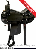 "15"" Dakota Walker Horse Saddle 750"