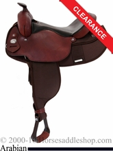 "15"" Fabtron Arabian Saddle 7318 7322"