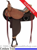 "15"" Fabtron High Trail Boss Homesteader Saddle 7612"