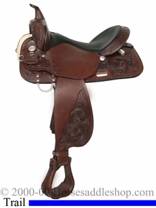 "15"" High Horse Alvarado Trail Saddle by Circle Y 6850 Reg or Wide"