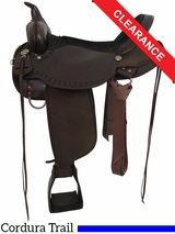 "17"" High Horse by Circle Y Daisetta Cordura Trail Saddle 6914 CLEARANCE"