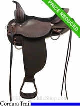 "15"" High Horse by Circle Y Daisetta Cordura Trail Saddle 6914"
