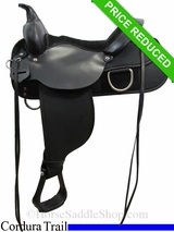 "15"" High Horse by Circle Y Lockhart Cordura Trail Saddle 6910"
