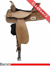 "SOLD 2016/11/02  16"" High Horse by Circle Y The Proven Mansfield Barrel Saddle 6221 CLEARANCE"