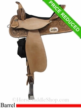 "15"" High Horse by Circle Y The Proven Mansfield Barrel Saddle 6221"