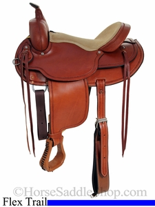 15inch 16inch Custom Flex Tree Trail Saddle FQHB