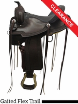 "15"" Rocking R Gaited Trail Saddle 1217 CLEARANCE"