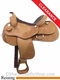 "15"" Rocking R Reining Saddle 2736"