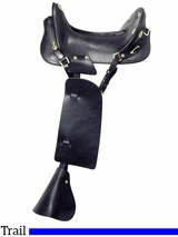 "15"" Royal King McClellan Replica Cavalry Saddle 1"