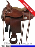 "15"" Tex Tan Salem Flex Trail Saddle 08-TF402-1"