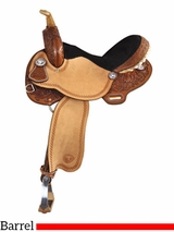 "15"" Tex Tan Timed Event Barrel Saddle 292233PN5"