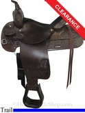 "15"" Tex Tan Trail Saddle ustt2788"