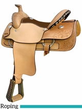 "** SALE ** 15"" to 16"" Billy Cook BCS Roper Saddle 291755"