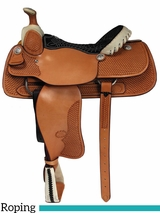 "** SALE ** 15"" to 17"" Billy Cook Dally Team Roper Saddle 9111"