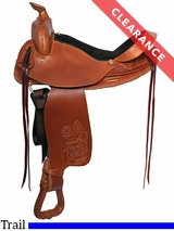"""SOLD 2017/02/11  16"""" Colorado Saddlery Colorado Wide Trail Master 100-6333 CLEARANCE"""