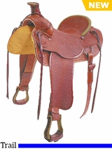 "15"" to 16"" Colorado Saddlery's The ""Mile High"" Trail Saddle 0-5113-6113"