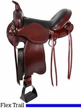 "** SALE ** 15"" to 17"" Big Horn Custom Light Flex Tree Trail Saddle 810 811"