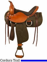 "** SALE ** 15"" to 17"" Big Horn Ladies Light Weight Trail Saddle FQHB"