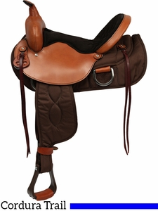 """** SALE ** 15"""" to 17"""" Big Horn Lady Light Weight Flex Trail Saddle"""
