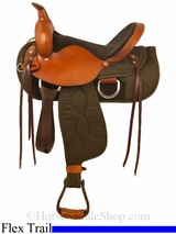 """15"""" to 17"""" Big Horn Lady Light Weight Flex Trail Saddle 325 326 327"""