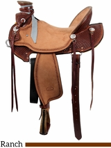 "** SALE ** 15"" to 17"" Billy Cook Wade Ranch Saddle 2197"
