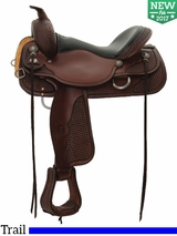 "15"" to 17"" Circle Y Ashton High Country Trail Saddle 2617"