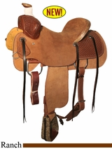 "** SALE ** 15"" to 17"" Circle Y Kenedy Ranch Saddle 1112 w/Free Pad"