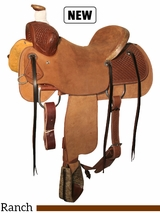 "15"" to 17"" Circle Y Kenedy Ranch Saddle 1112 w/Free Pad"