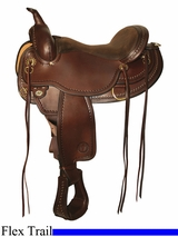 "** SALE **15"" to 17"" Circle Y Southland Flex2 Trail Saddle 1663 *free gift*"