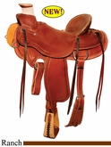 "15"" to 17"" Circle Y Three Rivers Ranch Saddle 1342 *free gift*"