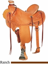 "15"" to 17"" Circle Y XP Birch Creek Ranch Saddle 1114 w/Free Pad"