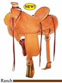 "15"" to 17"" Circle Y XP Birch Creek Ranch Saddle 1114 *free gift*"