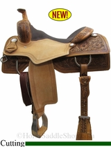 "15"" to 17"" Circle Y Xtreme Performance Tyler Cowhorse Saddle 1391"