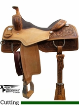 "15"" to 17"" Circle Y Xtreme Performance Tyler Cowhorse Saddle 1391 w/Free Pad"