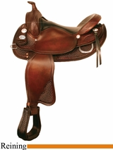 "15"" to 17"" Crates Classic Reining Saddle 2222"