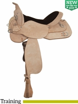 "15"" to 17"" High Horse by Circle Y Oakland Training Saddle 6315"
