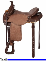 "15"" to 17"" King Series Brisbane Roughout Trail Saddle 172"