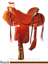"15"" to 17"" Reinsman Wade Ranch Saddle 4609"