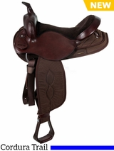 "** SALE ** 15"" to 17"" South Bend Saddle Co Pawnee XL Haflinger Trail Saddle 2900"