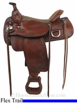 "15"" to 17"" Tex Tax Seminole Flex Trail Saddle 292TF484"