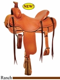 "15"" to 18"" Circle Y Big Sandy Ranch Saddle 1129 *free gift*"