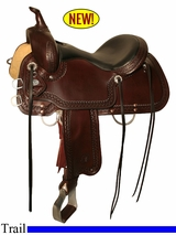 "15"" to 18"" Circle Y Shallowater All-Around Trail Saddle 2606"