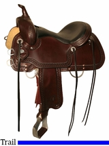 "15"" to 18"" Circle Y Shallowater All-Around Trail Saddle 2606 w/Free Pad"