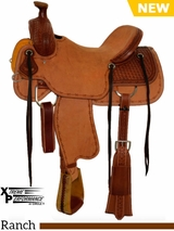 "15"" to 18"" Circle Y XP Bernard Ranch Saddle 1130 w/Free Pad"