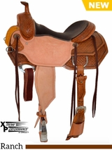 "15"" to 18"" Circle Y XP Hamilton Ranch Saddle 2542 w/Free Pad"