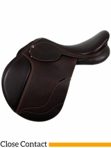 "** SALE ** 17.5"" Collegiate Convertible Diploma Close Contact Saddle 595516"