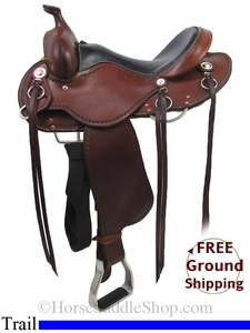 "SOLD 2014/07/09 $1250 15"" Used Cashel Trail Saddle, Wide Tree usca2779 *Free Shipping*"