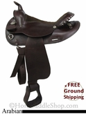 "PRICE REDUCED! 15"" Used Circle Y Arabian Saddle uscy2738 *Free Shipping*"